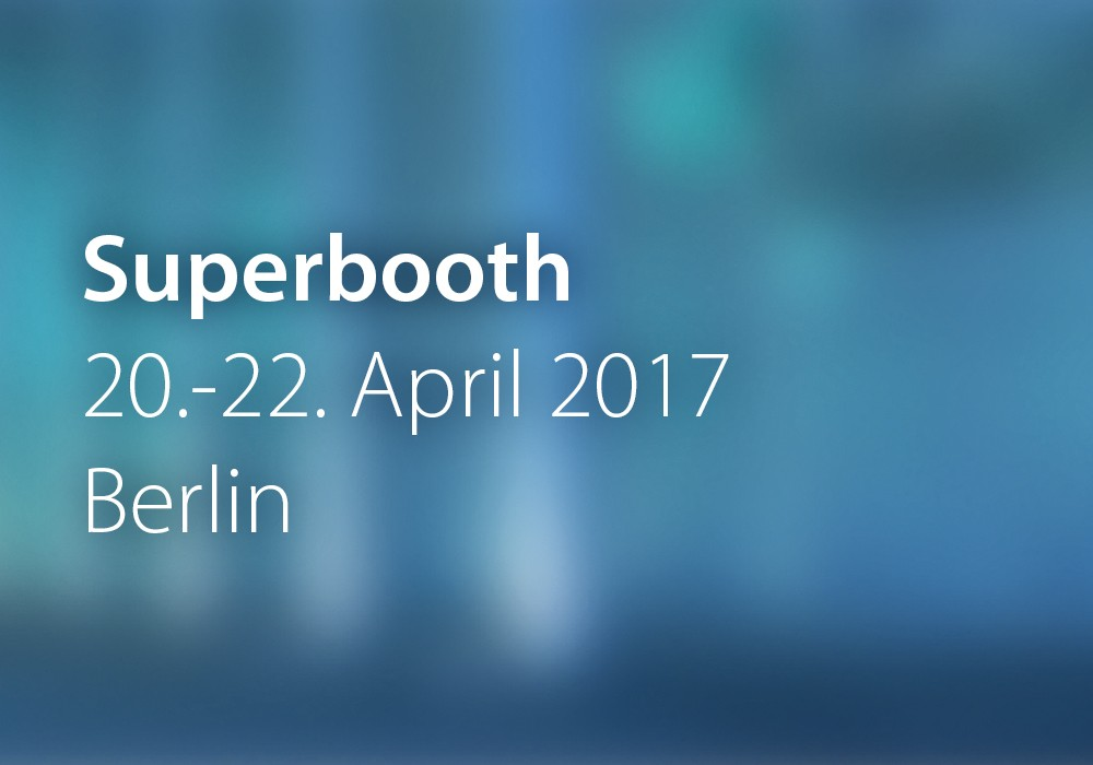 Preview: Superbooth_2017