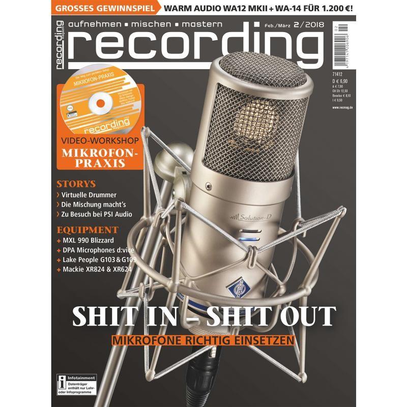 Vorschau: Recording-Magazin-02-2018