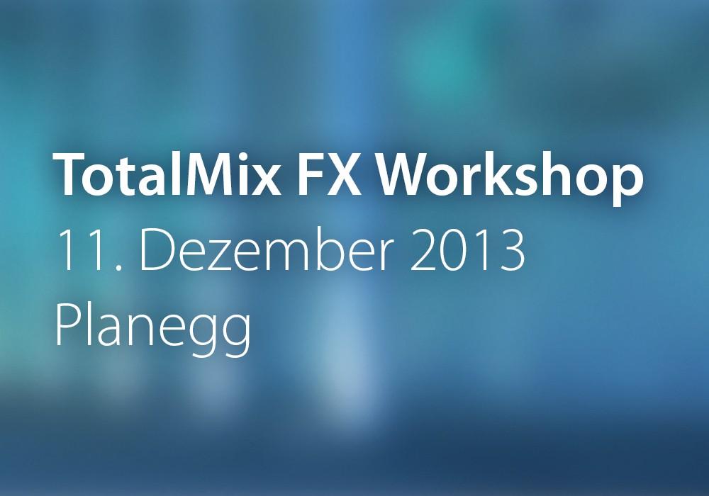 Vorschau: TotalMix_2013