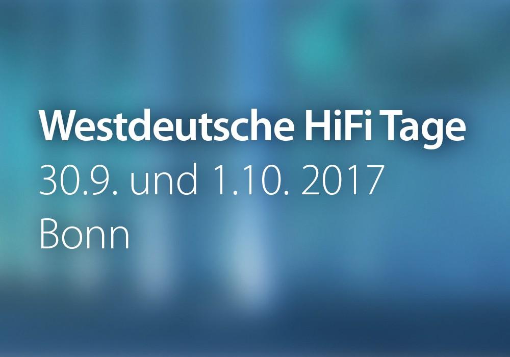 Vorschau: WestdeutscheHiFiTage_2017