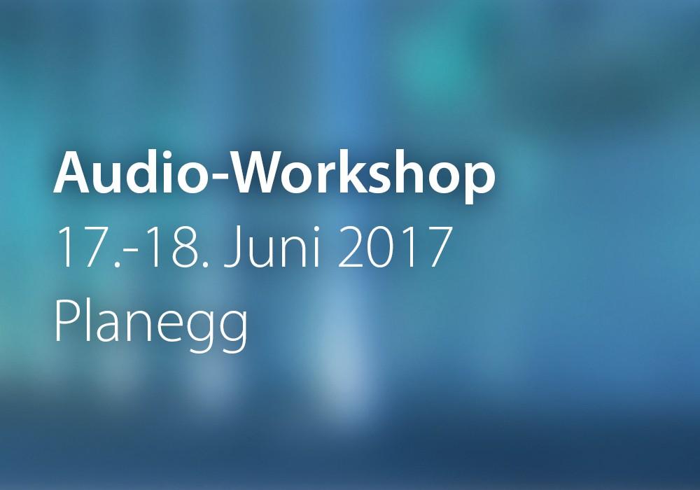 Preview: AudioWorkshop_2017