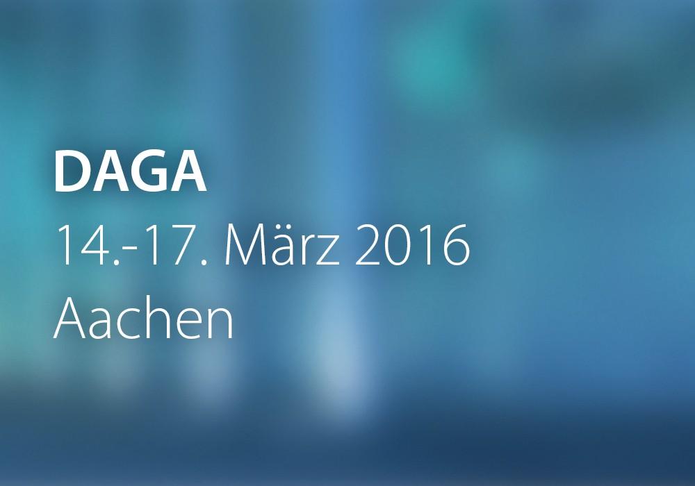 Preview: DAGA_2016